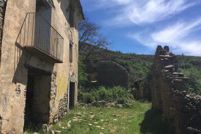 Verlaten huis Ribagorza