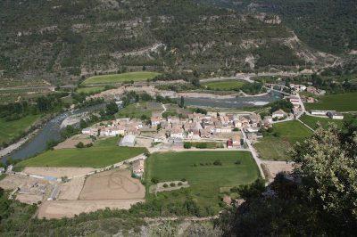 Uitzicht op Perarrua